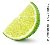 Standing Ripe Slice Of Lime...