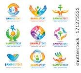 insurance  design elements ... | Shutterstock .eps vector #171275522