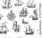 Old Caravel  Vintage Sailboat ...