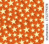seamless orange abstract... | Shutterstock .eps vector #1712779378