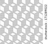 seamless monochrome geometric...   Shutterstock .eps vector #171289022