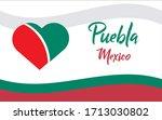 puebla  ciudad de mexico  mx ...   Shutterstock .eps vector #1713030802