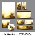 identity package. | Shutterstock .eps vector #171303806