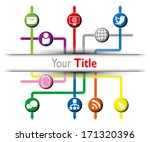 infographic examples colored... | Shutterstock .eps vector #171320396