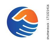handshake | Shutterstock .eps vector #171321416