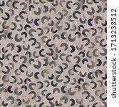 seaumless neutral worn faded... | Shutterstock . vector #1713233512