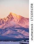 Krivan Mountain During Sunset...