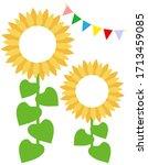 Cute Sunflower Illustration...