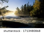 River on the Ingraham Trail, Northwest Territories, Canada