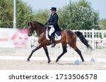 Athlete On Horseback Horses. ...