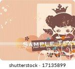 cartoon childish grunge... | Shutterstock .eps vector #17135899