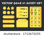 vector game ui asset set
