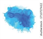 splash of brush shades... | Shutterstock .eps vector #1713727612