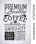 set of vintage retro premium... | Shutterstock . vector #171374246