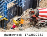Concreting Work At The...