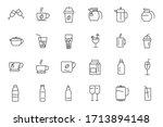 set drinks icon template for... | Shutterstock .eps vector #1713894148