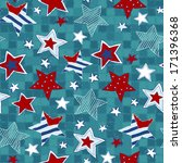 Stars Seamless Pattern....