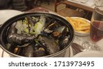 Steamed Mussels With Onions An...