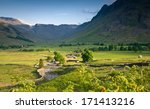 mountains and meadows in... | Shutterstock . vector #171413216