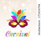 illustration colorful carnival... | Shutterstock .eps vector #171414746