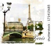 Paris  Artistic Vintage Style...