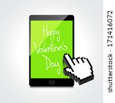 valentine day web  modern... | Shutterstock .eps vector #171416072