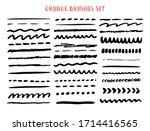 vector line grunge sketch...   Shutterstock .eps vector #1714416565
