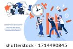 web page template of... | Shutterstock .eps vector #1714490845