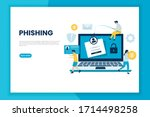 phishing attack illustration...