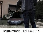 The Man Is Going To Bury The...