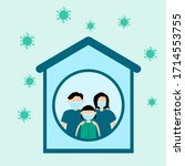 illustration design concept... | Shutterstock .eps vector #1714553755