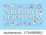 creativity development word...