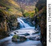 Water Cascading Through A Gorg...