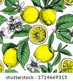 seamless wallpaper pattern....   Shutterstock .eps vector #1714669315