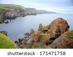 St Abbs Head Seascape  Scotlan...