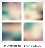 abstract colorful smooth... | Shutterstock .eps vector #1714723102