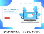 email marketing  mail service.... | Shutterstock .eps vector #1714759498
