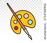 Palette Paint Brush  ...