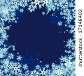snowflakes design | Shutterstock .eps vector #17148403