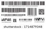 Bar Code Icon. Set Of Modern...