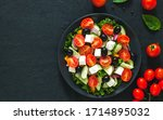 Greek Salad With Tomato And...