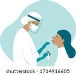 coronavirus covid 19...   Shutterstock .eps vector #1714916605