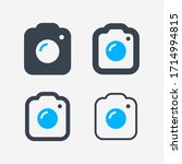 camera photo line vector icon.... | Shutterstock .eps vector #1714994815