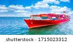 Container Cargo Ship  Freight...