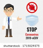 professional doctor isolated... | Shutterstock . vector #1715029375