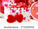 happy valentines day  with... | Shutterstock . vector #171503942
