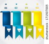 elements of infographic. modern ...   Shutterstock .eps vector #171507005