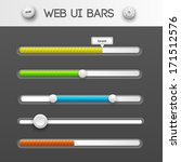 web interface ui elements....