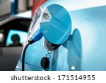the power supply for charging... | Shutterstock . vector #171514955
