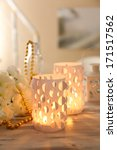 Home Decor  Candle Lights On...